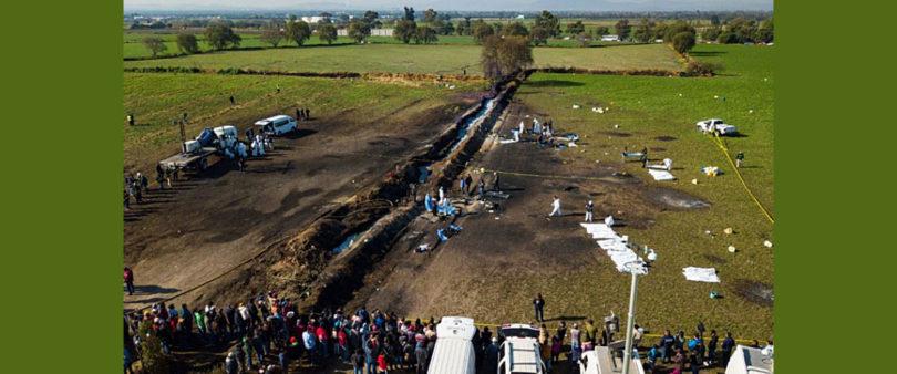 Especialistas atienden a los heridos por explosión en Tlahuelilpan