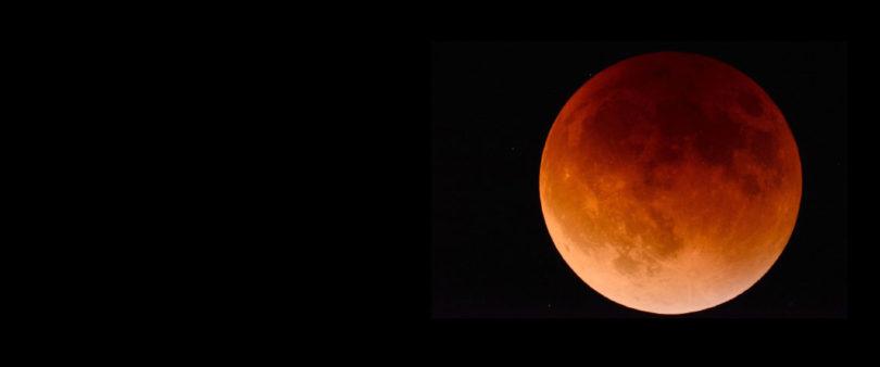 ¿Por qué no fue necesario proteger los ojos para ver la Superluna Roja?