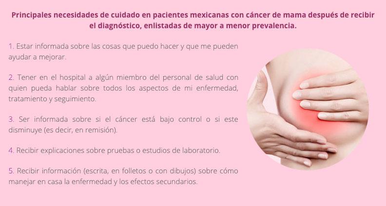 ¿Qué enfrenta una mujer con diagnóstico de cáncer de mama?