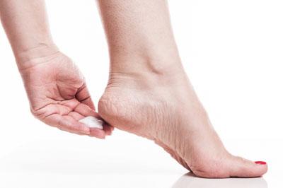 ¿Cómo controlar los talones secos?
