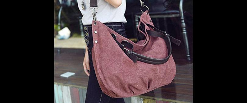 ¡Cuidado con el peso de tu bolsa de mano!