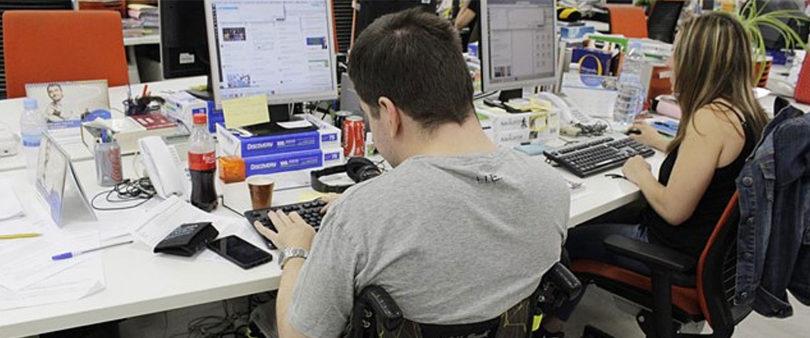 Enorme desigualdad laboral para discapacitados