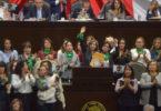 Llega 'marea verde' al Congreso