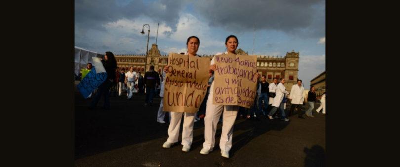 Confesiones de los médicos que protestan