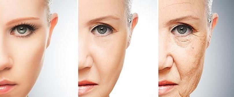 Cómo envejece una mujer a los treinta, a los cuarenta, a los cincuenta...